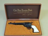 COLT FACTORY ENGRAVED SINGLE ACTION ARMY (INVENTORY#9733)