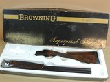 BROWNING SUPERLIGHT SUPERPOSED 12 GAUGE SHOTGUN IN BOX (INVENTORY#10214)
