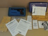 SMITH & WESSON FACTORY ENGRAVED M41 .22LR PISTOL IN BOX (INVENTORY#10010) - 4 of 11
