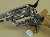 COLT SAA NICKEL FACTORY ENGRAVED CUTAWAY .45LC (INVENTORY#9773) - 5 of 8