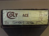COLT ACE .22LR PISTOL IN BOX (INVENTORY#9991) - 9 of 9
