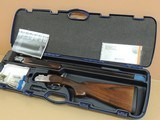 BERETTA 686 SILVER PIGEON I .410 OVER UNDER SHOTGUN IN CASE (INVENTORY#10201)