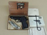 WALTHER WEST GERMAN PP .32 ACP PISTOL IN BOX (INVENTORY#10330)