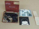 WALTHER PPK .22LR WEST GERMAN PISTOL IN BOX (INVENTORY#10325)