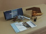 Smith & Wesson Model651-1 .22 Magnum Stainless Revolver in the Box(Inventory#10607)