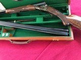 PARKER 12 GAUGE REPRODUCTION TWO BARREL SET WITH CASE - 4 of 15