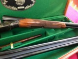 PARKER 12 GAUGE REPRODUCTION TWO BARREL SET WITH CASE - 15 of 15