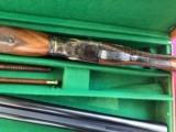 PARKER 12 GAUGE REPRODUCTION TWO BARREL SET WITH CASE - 13 of 15
