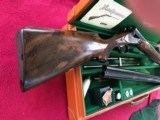 PARKER 12 GAUGE REPRODUCTION TWO BARREL SET WITH CASE - 6 of 15