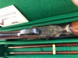 PARKER 12 GAUGE REPRODUCTION TWO BARREL SET WITH CASE - 10 of 15
