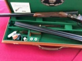PARKER 12 GAUGE REPRODUCTION TWO BARREL SET WITH CASE - 8 of 15