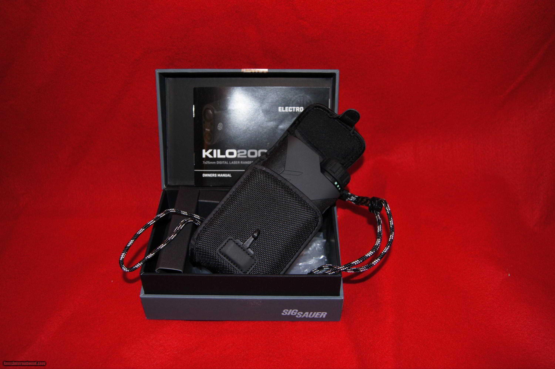 Sig Sauer KILO2000 Range Finder