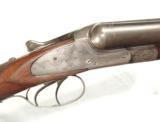 PRE-WAR GERMAN 12 GAUGE SHOTGUN BY von LENGERKE & DETMOLD, NEW YORK