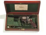 "BRITISH PERCUSSION DOUBLE ACTION REVOLVER BY ""ISAAC HOLLIS, BRIMINGHAM""