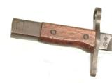 WWII JAPANESE BAYONET W/ BAMBOO SCABBARD & FROG- 4 of 6
