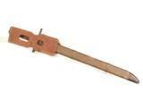WWII JAPANESE BAYONET W/ BAMBOO SCABBARD & FROG- 3 of 6