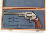 S&W MODEL 657 STAINLESS STEEL .41 MAGNUM REVOLVER