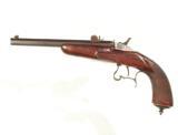 .FLOBERT .22 RIMFIRE SINGLE SHOT TARGET PISTOL