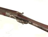 ENGLISH DOUBLE BARREL HAMMERGUN BY