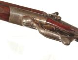 CHARLES LANCASTER {OVAL-BORE} HAMMER DOUBLE RIFLE IN .450 CALIBER - 10 of 13