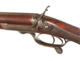 CHARLES LANCASTER {OVAL-BORE} HAMMER DOUBLE RIFLE IN .450 CALIBER - 7 of 13