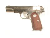 COLT MODEL 1908 NICKEL FINISH AUTO PISTOL IN .380 CALIBER WITH IT'S FACTORY BOX - 3 of 9