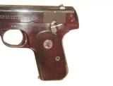 COLT MODEL 1908 NICKEL FINISH AUTO PISTOL IN .380 CALIBER WITH IT'S FACTORY BOX - 5 of 9