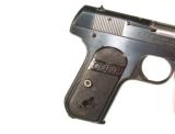 COLT MODEL 1908 HAMMERLESS AUTOMATIC IN .380 CALIBER IN IT'S FACTORY BOX - 8 of 11