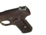 COLT MODEL 1908 HAMMERLESS AUTOMATIC IN .380 CALIBER IN IT'S FACTORY BOX - 6 of 11