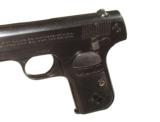 COLT MODEL 1908 HAMMERLESS AUTOMATIC IN .380 CALIBER IN IT'S FACTORY BOX - 9 of 11