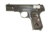 COLT MODEL 1908 HAMMERLESS AUTOMATIC IN .380 CALIBER IN IT'S FACTORY BOX - 4 of 11