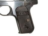 COLT MODEL 1908 HAMMERLESS AUTOMATIC IN .380 CALIBER IN IT'S FACTORY BOX - 7 of 11