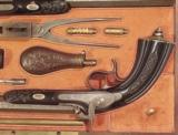 MAGNIFICENT CASED PAIR OF FRENCH PERCUSSION PISTOLS - 3 of 20
