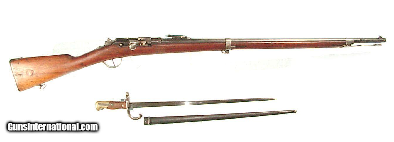 FRENCH MODEL 1874