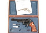 S&W MODEL 57 REVOLVER .41 MAGNUM CALIBER WITH IT'S FACTORY BOX