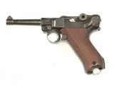 """WWII LUGER S/42 MODEL DATED """"1938"""""""