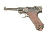 "WWI ""DWM"" LUGER PISTOL DATED ""1917"""