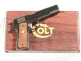 COLT MODEL 1911MKIV SERIES 70.45 CALIBER PISTOL