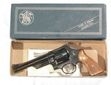S&W MODEL 28-2 REVOLVER IN .357 MAGNUM CALIBER WITH IT'S FACTORY BOX