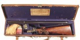 "ENGLISH SIDE LEVER ROOK RIFLE BY ""ARMY & NAVY C.S.L."" IN .300 CALIBER"