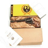 RUGER BLACKHAWK (3 SCREW) REVOLVER IN .30 CARBINE NEW IN IT'S FACTORY BOX