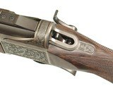 DELUXE ENGRAVED LUXUS ARMS MODEL 11 SINGLE SHOT RIFLE IN .308 WIN. CALIBER - 4 of 12