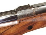 FABULOUS KIMBER of OREGON FACTORY ENGRAVED AND GOLD INLAID AFRICAN RIFLE IN .416 RIGBY CALIBER - 8 of 15