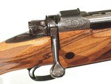 FABULOUS KIMBER of OREGON FACTORY ENGRAVED AND GOLD INLAID AFRICAN RIFLE IN .416 RIGBY CALIBER - 7 of 15