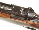 FABULOUS KIMBER of OREGON FACTORY ENGRAVED AND GOLD INLAID AFRICAN RIFLE IN .416 RIGBY CALIBER - 10 of 15
