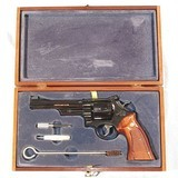 SMITH & WESSON MODEL 27-2 REVOLVER IN IT'S FACTORY WOODEN BOX