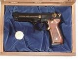 BERETTA MODEL 92FS( NRA COMMORATIVE ) 9mm PISTOL IN IT'S FACTORY PRESENTATION DISPLAY BOX