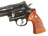 "SMITH & WESSON MODEL 27-2 WITH 8 3/8"" BARREL IN IT'S WOODEN PRESENTATION BOX - 7 of 10"