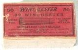 WINCHESTER MFG.BOX OF 32 W.C.F. (32-20) CALIBER CARTRIDGES - 1 of 1
