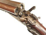 """HAMMER DOUBLE RIFLE BY """"JOSEPH LANG & SON'S. LONDON"""" IN .450 B.P.E. - 12 of 12"""
